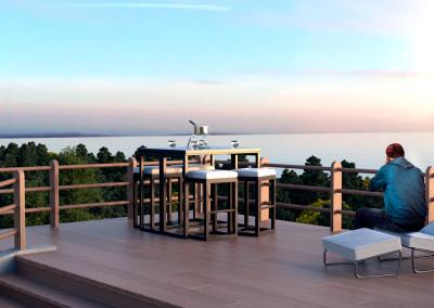 Ocean Garden - Deck